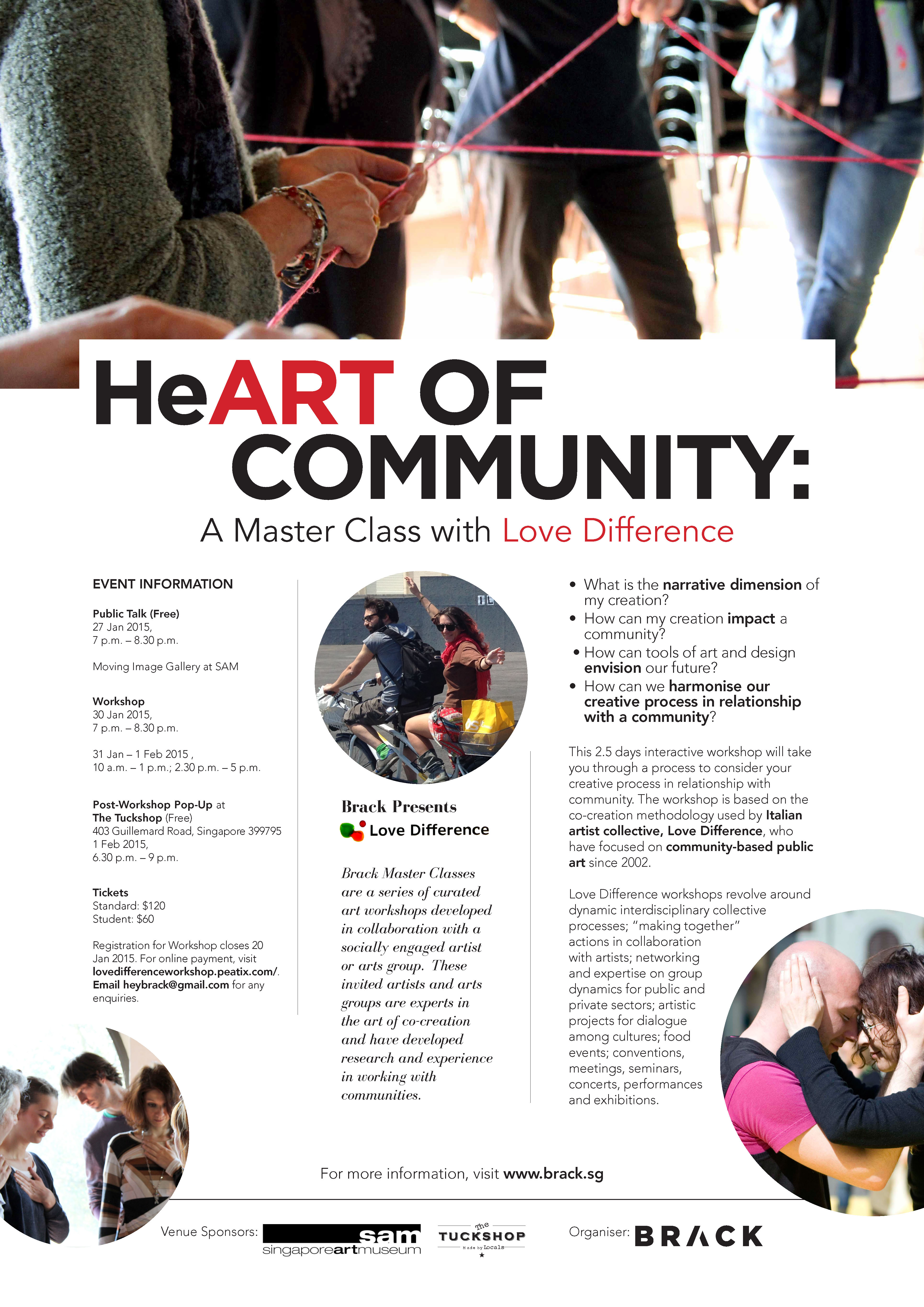 HeARTOfCommunity with Love Difference