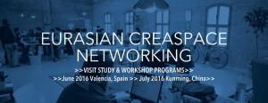 OPEN CALL:  Eurasian Creaspace Networking (ECN) @ Spain