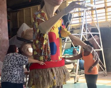Snuff Puppets Singapore BrackChat Art Socially Engaged