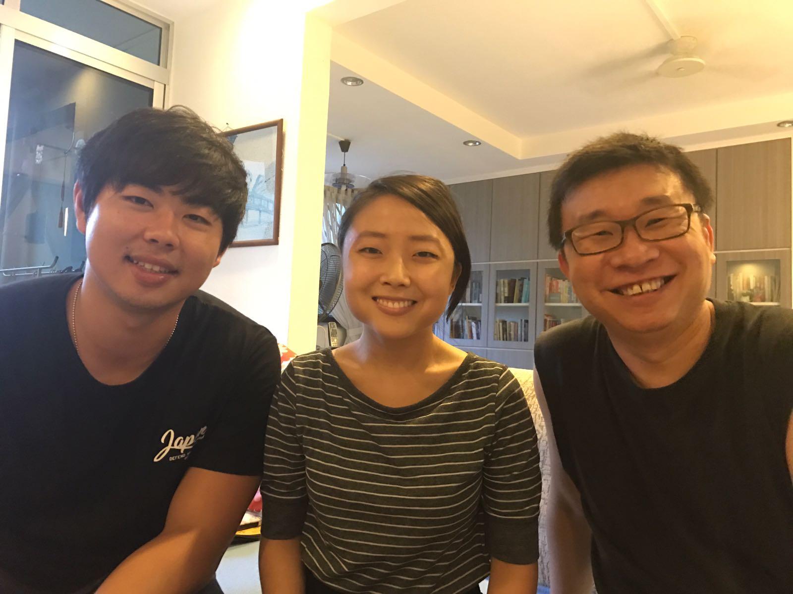 singapore brack Ben Yom, Kirin Heng and Kok Heng Leun